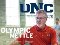 UNC Magazine Olympic Mettle