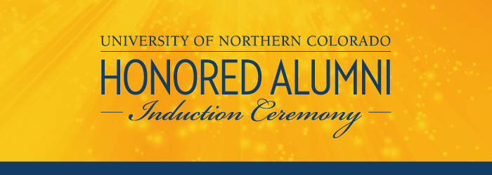 Honored Alumni Induction Ceremony