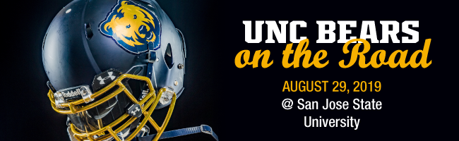 UNC Bears on the Road | Aug 29 @ SJSU