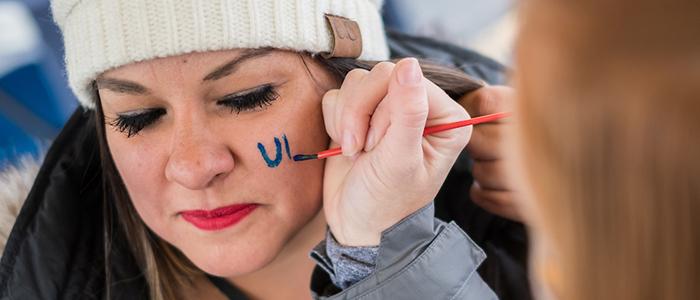 UNC Facepainting