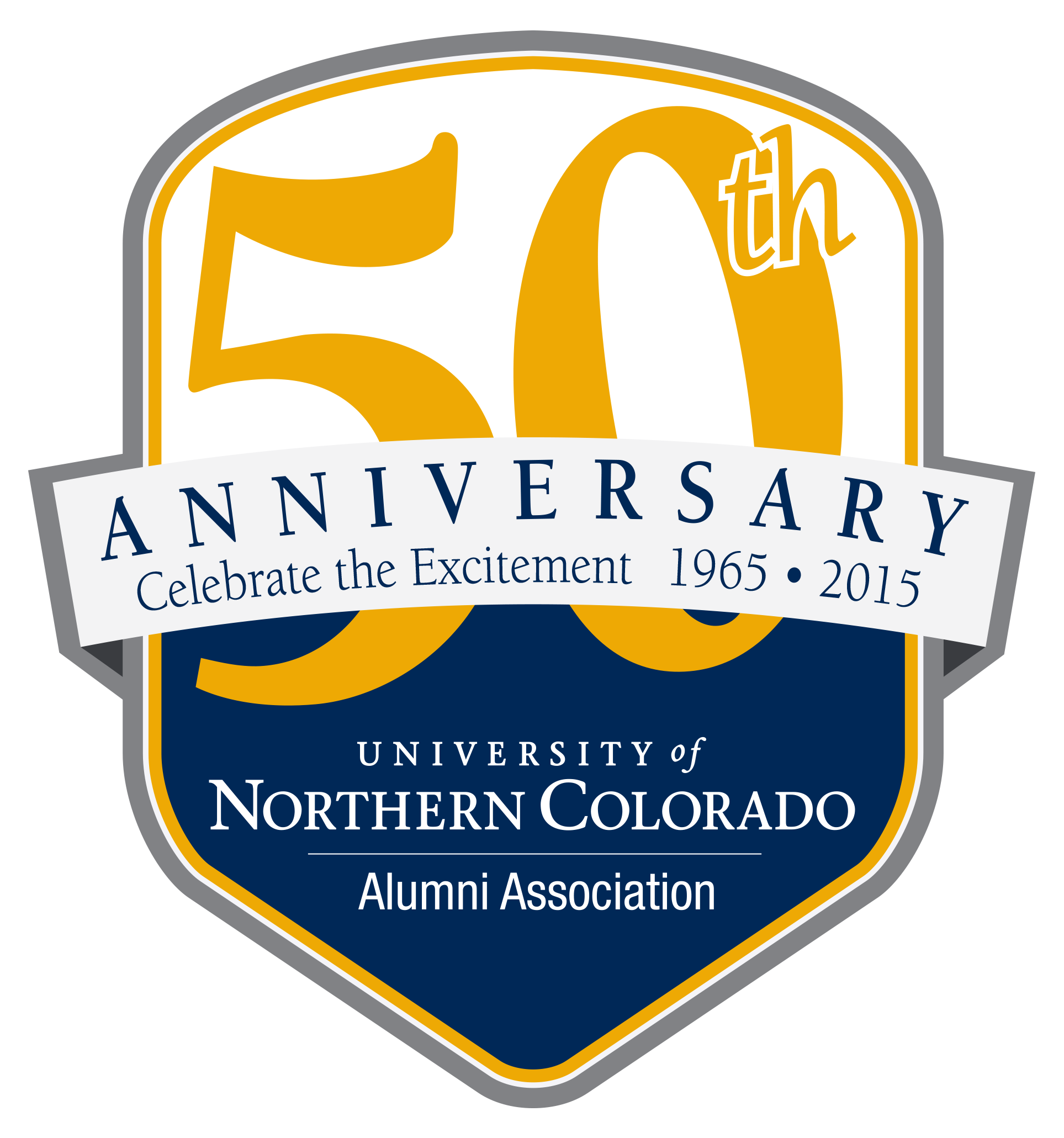 Alumni Association 50 Year Anniversary Logo
